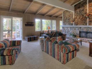 Spacious, Comfortable Living Room with Panoramic Lake Views and Fireplace!        ireplace! e