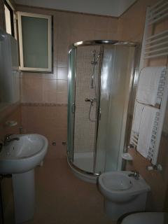 bagno monolocale la lavanda