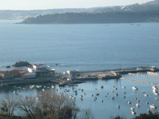 Piso vacacional Seixo -Aguete (Marín-Pontevedra) vistas al mar.  Rías Baixas