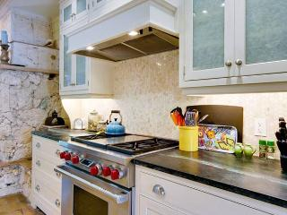 Fully-Equipped Kitchen includes Gas Range