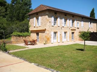 The Old Convent Luxury stone house private pool, Frayssinet-le-Gelat
