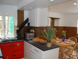 The Kitchen, with Rayburn (aga)
