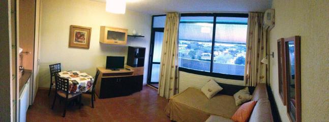 salón comedor dormitorio