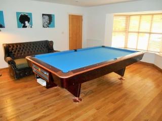 American Pool Table in games room