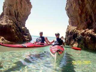 Sea kayak available every day for our costumers