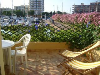 Mediterranee,Canet plage, calm