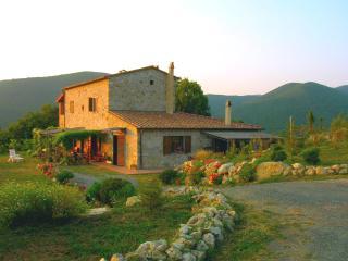 Farmhouse external view