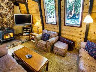 Escape to the forest w/a private hot tub, pet-friendly home!, Tahoe City