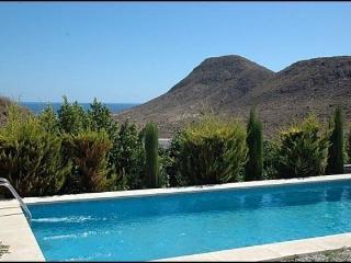Casa Palmera, maravillosa piscina con vista al mar, Las Negras