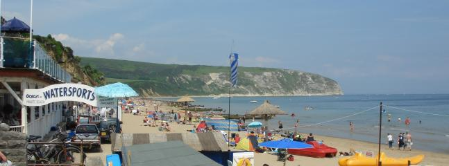 North end of Swanage Bay Beach