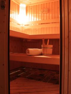 Large Sauna for après-ski