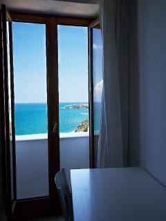 view from bedroom balcony