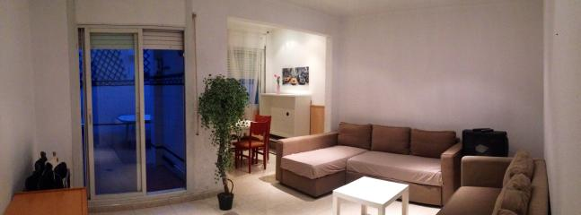 Living room with 2 double sofa-beds (4 guests)
