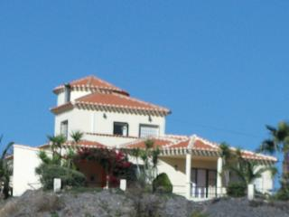 Front view of the villa ,with private gated driveway