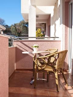 large balcony - living room