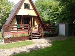 Quiet comfortable chalet in tranquil woodland, Grafham