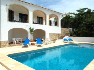 Javea, Villa Nido, sea view, private pool, aircon