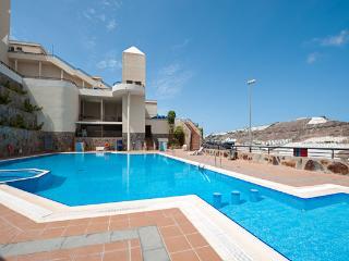 Duplex de lujo en Puerto Rico, piscina y jakuzzi, Gran Canaria