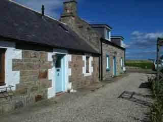 Our two Seatown Cottages, Lossiemouth