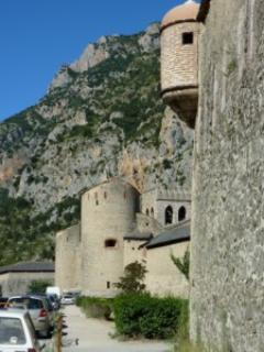Villefranche de Conflent beautiful medieval walled town