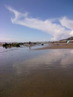 Miles of lovely sand beaches to enjoy