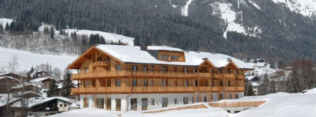 Club Hotel in Winter.