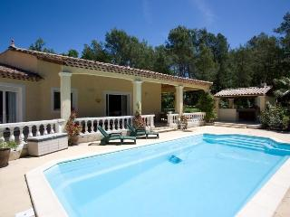 6033 4-bedroom Provence villa with large pool, Seillans