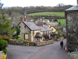 Village centre and real ale pub, 200 yards