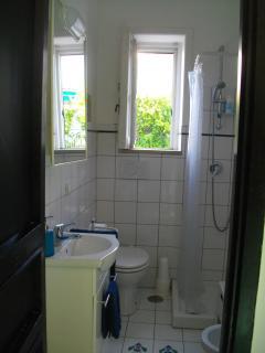 The bath room on the ground floor