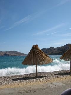 The biggest 2 kilometer long beach - Vela plaža. It is only 5 minutes away from the apartment.