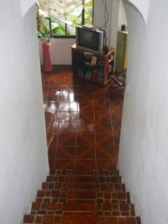 stair leading to the living room