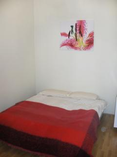 The second double bedroom which has another single bed in it also for a fifth person or child