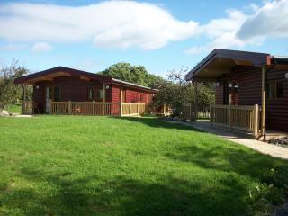 Wall Eden Farm (Barn Owl) - Luxury Log Cabin