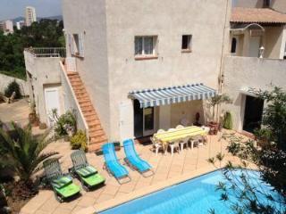 grande maison, piscine, Marsella