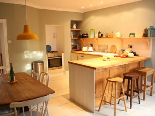 Allotment's large family kitchen and dining room