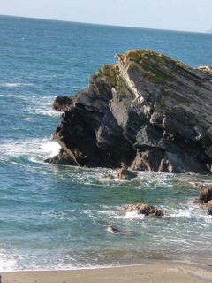 Lansallos Beach - Near Polperro - totally unspoilt, well worth the walk!
