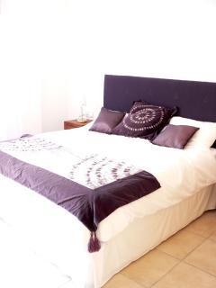 bedroom with shower room en suite and terrace