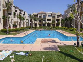 Roda Golf 2 Bed Penthouse on phase 2 with sea, golf and pool views