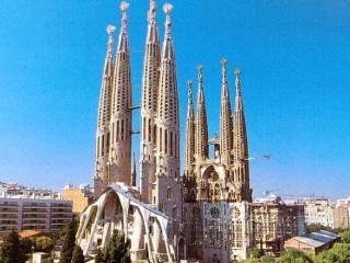 Apartamento Sagrada Familia. Terraza-solarium con increíbles vistas. Wifi gratis