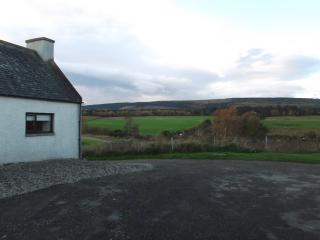View from the back of the house