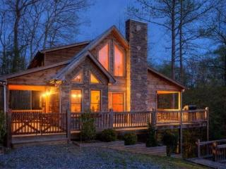 Pet Friendly Georgia Rental Cabin With Hot Tub, Blue Ridge