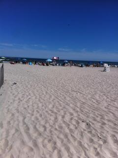 Large beautiful beach!