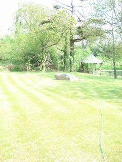 room to run ! view across your own lawn down to your river house