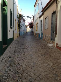 Traditional Portugese streets.