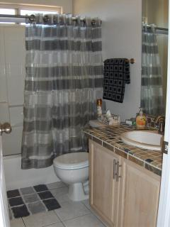 Hall Bathroom With Combination Tub/Shower
