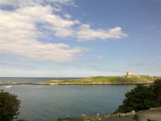Dalkey Island with a Ferry from the harbour