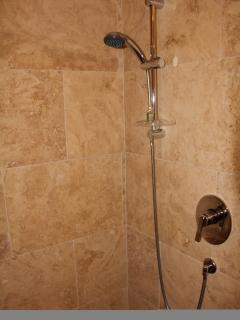 Powerful hot showers