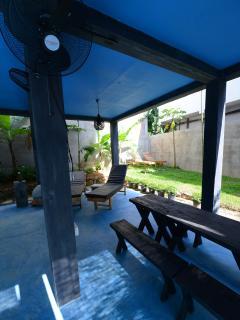 Indoor/Outdoor relaxation area