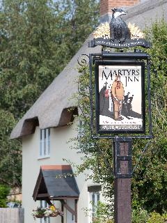 The Martyrs Inn, Tolpuddle is nearby and offers great service, good food and a friendly welcom