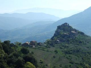 El mirador del Pirineo, Senterada